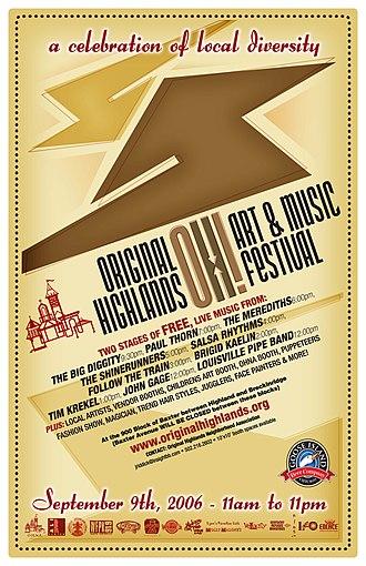 Original Highlands, Louisville - Image: 04543 OHSF Poster 07