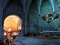 066 Santa Maria de Camprodon, altar major, al fons el tresor.JPG