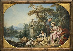 François Boucher: The Nest, also known as the Berger Present