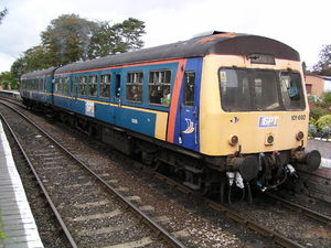 ScotRail (National Express) - Image: 101692 at Arley
