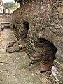 108 Sant Esteve de la Doma, antigues tombes vora el mur oest.jpg