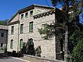 118 Xalet de Sant Jordi, barri del Balneari (Vallfogona de Riucorb), façana sud.jpg