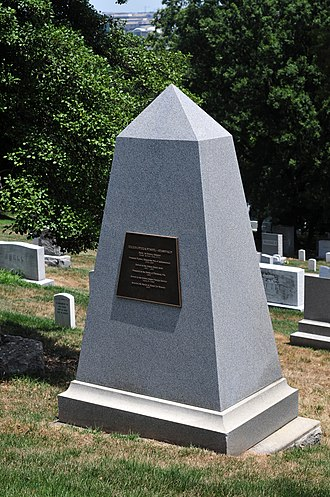Julius Stahel - Julius Stahel's Grave at Arlington National Cemetery
