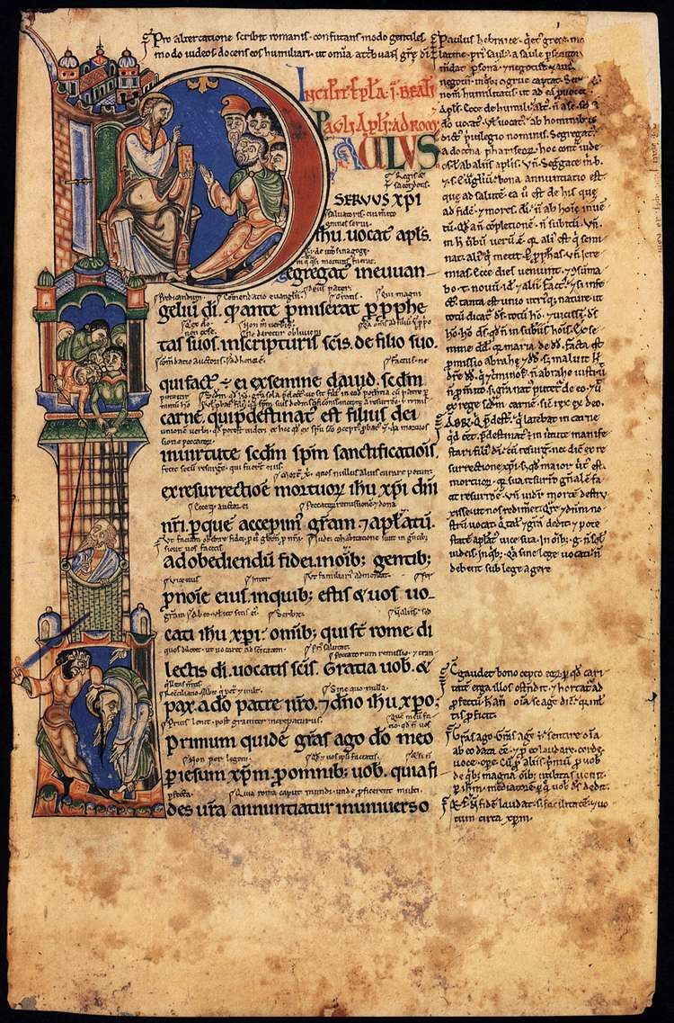 12th-century painters - Epistles of St Paul with Gloss - WGA15727