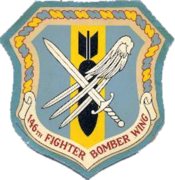 146th Fighter-Bomber Wing - Emblem