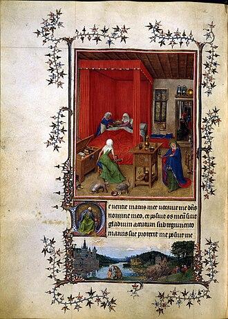 Turin-Milan Hours - Image: 14th century painters Les Très Belles Heures de Notre Dame de Jean de Berry WGA16014