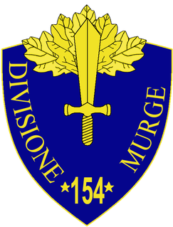 154th Infantry Division Murge division