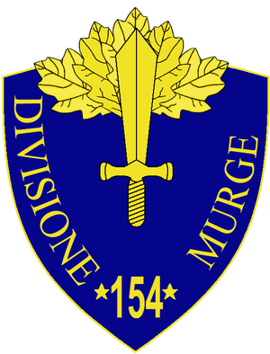 154th Infantry Division Murge - 154th Infantry Division Murge Insignia