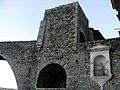 167 Camprodon, pont nou, portal de Cerdanya i imatge de Sant Roc.jpg