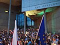 17 Protests against Polish judiciary reforms in 2017 in Katowice, Poland - Sąd Okręgowy Katowice - Creative Commons Attribution.jpg