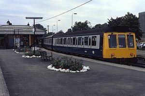 British Rail Class 115 - Image: 18.09.84 Aylesbury Class 115 (6847433421)