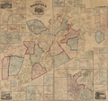 1858 map NorfolkCounty Massachusetts byWalling BPL 10903.png