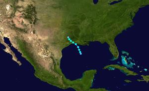 1882 Atlantic hurricane season - Image: 1882 Atlantic hurricane 3 track