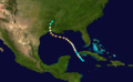 1886 Atlantic hurricane 10 track.png