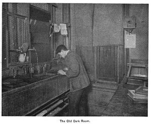 Boston Camera Club - Image: 1893 old dark room Boston Camera Club