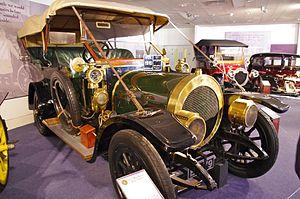 Maudslay Motor Company - 1910 Maudslay 32hp Tourer at Coventry Transport Museum
