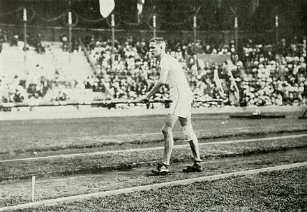 Stabhochsprung-Olympiasieger Harry Babcock
