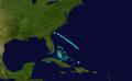 1916 Atlantic tropical storm 11 track.png
