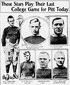 1917 Pitt Seniors playing their last game against Penn State.jpg