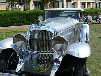 Pebble Beach Concours d'Elegance - 1929 Duesenberg J Murphy Convertible Coupe, 2009 Concours