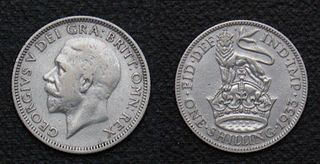 unit of currency formerly used in the United Kingdom, Australia, United States, and other British Commonwealth countries