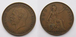 History of the pre-decimal British penny during the 20th century