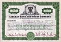 1938 - Liberty Bank and Trust Co Stock Certificate Allentown PA.jpg