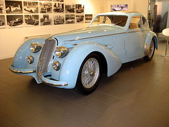 Alfa Romeo 8C - 1938 Alfa Romeo 8C 2900 B Lungo with Carrozzeria Touring Superleggera body