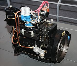 Toyota Type A engine - Image: 1947 Toyota S Type engine