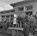 1957 Visite du ministre de l'agriculture Mr ANDRE DULIN au CNRZ-46-cliche Jean Joseph Weber.jpg