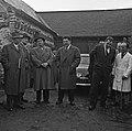 1958 visite d'une délégation INRA au Haras du Pin Cliché Jean Joseph Weber-24-1.jpg