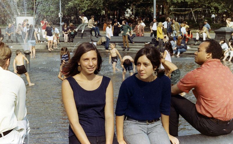 Young people in New York City (1967). Prosperity played a role in shaping the youth culture of the 1960s.