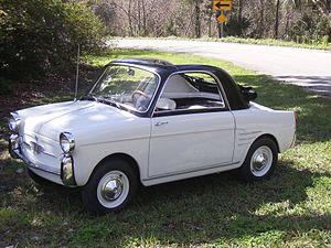 Autobianchi Bianchina - Image: 1961 Bianchina