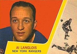Al Langlois - Image: 1963 Topps Al Langlois