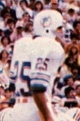 Tim Foley - Foley playing for the Dolphins in 1978