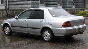 Honda Domani - Honda Domani (Russia)
