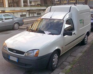 English: Ford Courier Europe 2000