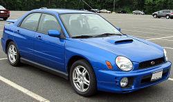 2002-2003 Subaru Impreza WRX sedan