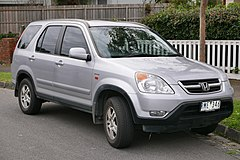 Honda CR-V II przed liftingiem