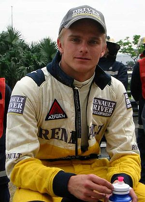 Heikki Kovalainen - Kovalainen at the 2002 Macau Grand Prix