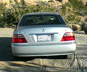 Acura RL - Rear view