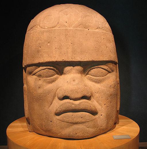 20041229-Olmec Head (Museo Nacional de Antropología)