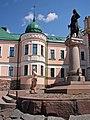 2007 Выборг, площадь Старой Ратуши Скульптура Торгильса Кнутссона DSC00354.jpg