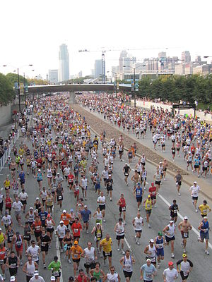 English: Chicago Marathon