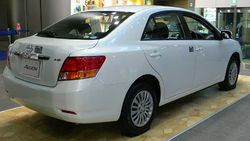 2007 Toyota Allion (rear view)