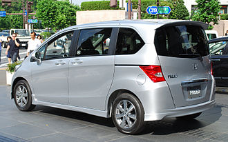 Honda Freed - Rear view of the Freed