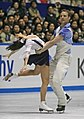 2008 NHK Trophy Ice-dance Pechalat-Bourzat02.jpg