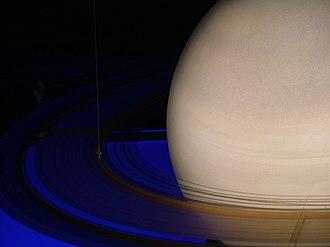 "Exploration of Saturn - Artwork utilizing exploration data, as revealed in ""Sternstunden"" in Oberhausen"