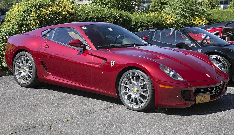 2009 Ferrari 599 GTB Fiorano F1, Rosso Fiorano - front right