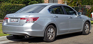Honda Accord (North America eighth generation) - Sedan